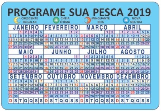 Calendario Pesca 2020.Fases Da Lua 2019 Calendario Lunar Calendario